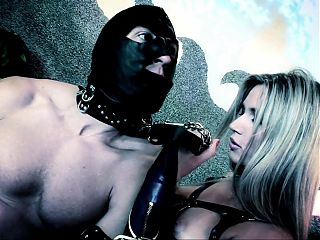 Hot babes in kinky latex warm up with toys before group sex
